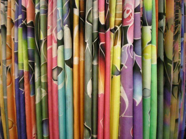 Silk Batiks