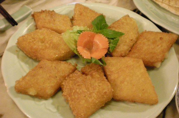 fried sticky rice